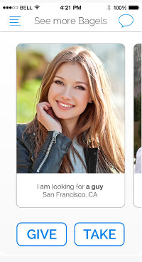 Bagel dating site