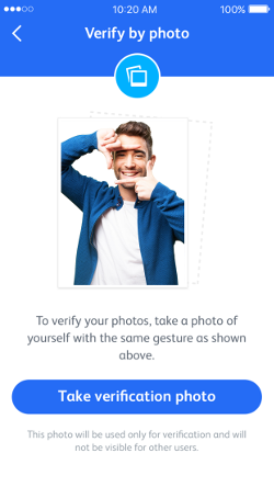 Badoo Photo Verification
