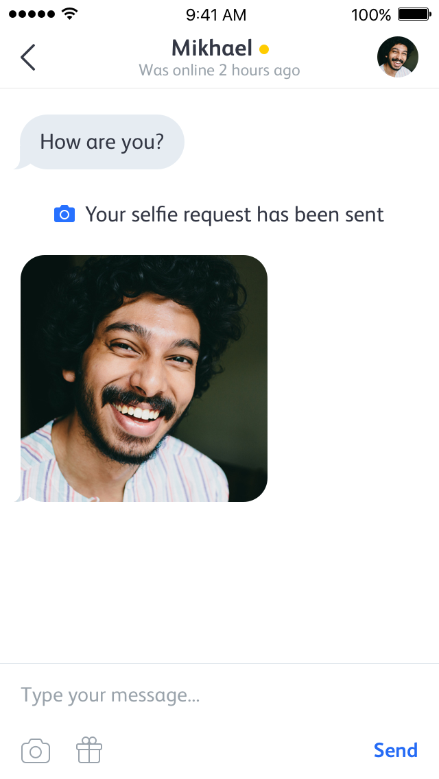 "Badoo Adds ""Selfie Request"" to Improve Safety for Female"