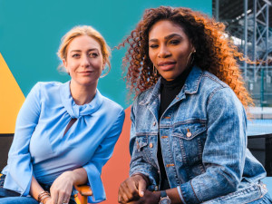 Bumble CEO and Serena Williams