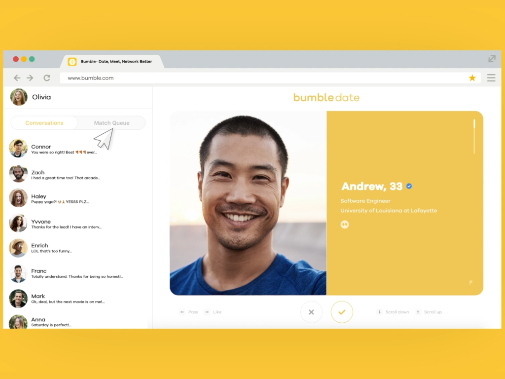 Bumble Introduces Desktop App And Gets Serious About IPO - Dating