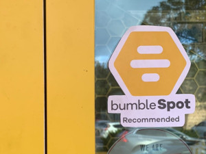 A BumbleSpot Verified Decal