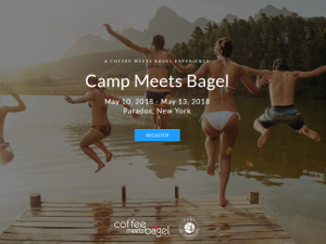 Coffee Meets Bagel Camp