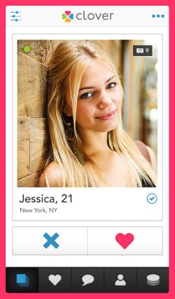 clover dating app not working