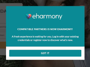 Compatible Partners is now part of eHarmony