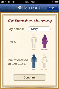 Eharmony relationship questionnaire