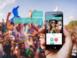 Festival hook up app