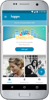 New Crush Time Feature on Happn