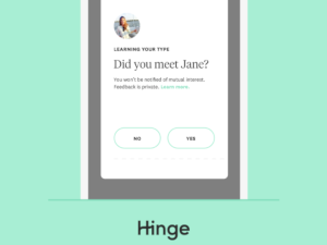 hinge dating app phone number