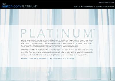 Platinum dating agency