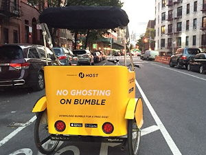 No Ghosting on Bumble Campaign