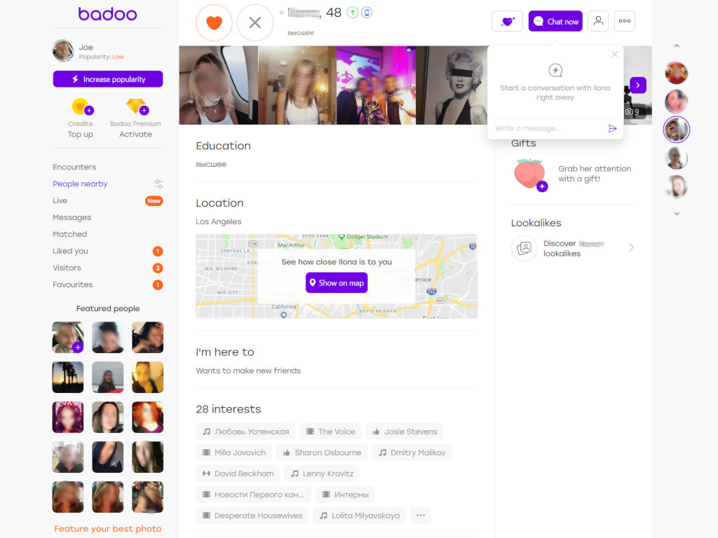 Badoo Review - Worlds Largest Dating Service - Dating Sites