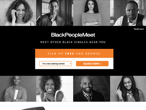 Blackpeoplemeet login page
