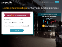 Dating website compatibility
