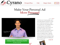 Online dating: Cyber Cyrano for hire