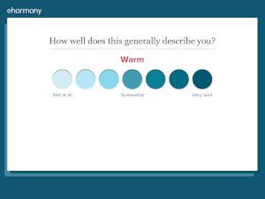 Eharmony colored dots