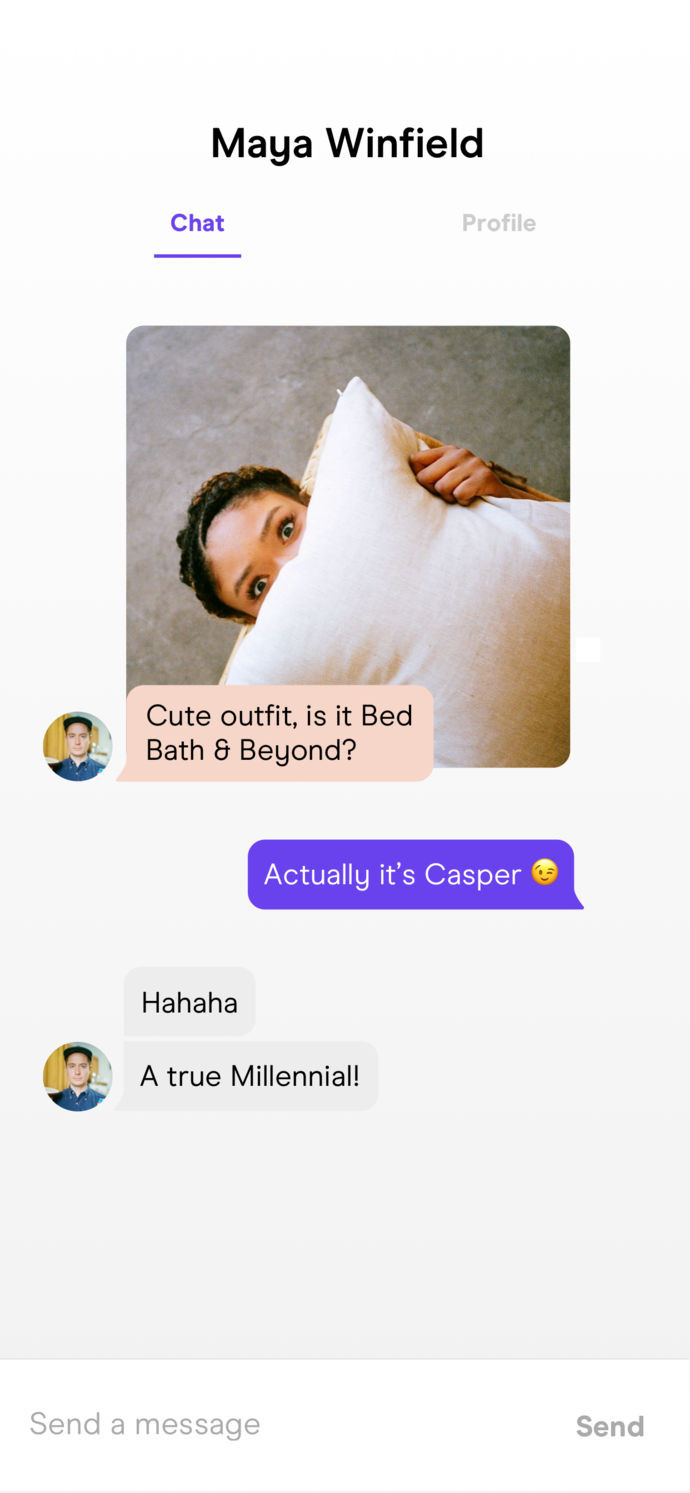 Hinge app is what dating What Is