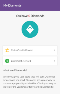 Information on MeetMe Diamonds
