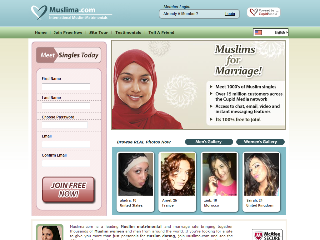 Free muslim dating sites