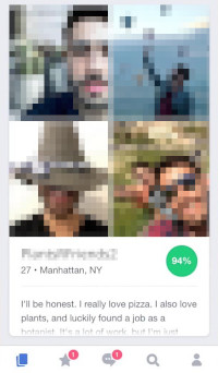 DoubleTake Card on OkCupid