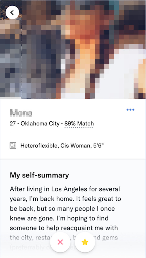 Okcupid block user