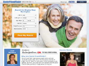 Senior FriendFinder Screen Capture