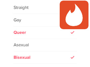 Tinder Adds Orientations