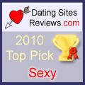 2010 Dating Sites Reviews Choice Awards - Sexy