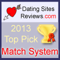 2013 Dating Sites Reviews Choice Awards - Match System