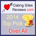 2014-Dating-Websites Bewertungen Choice Awards - Over All