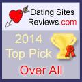 2014-Dating-Websites Bewertungen Choice Awards - Over All