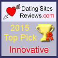 2015-Dating-Websites Bewertungen Choice Awards - Innovative
