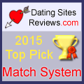 2015 Dating Sites Reviews Choice Awards - Match System