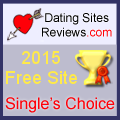 2015 Dating Sites Reviews Single's Choice Award - Free Site