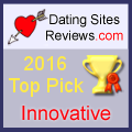 2016 Dating Sites Reviews Choice Awards - Innovative