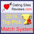 2016 Dating Sites Reviews Choice Awards - Match System