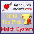 2018 Dating Sites Reviews Choice Awards - Match System