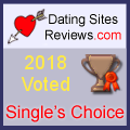 2018 Dating Sites Reviews Single's Choice Award - Bronze
