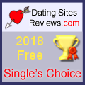 2018 Dating Sites Reviews Single's Choice Award - Free