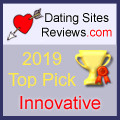 2019 Dating Sites Reviews Choice Awards - Innovative