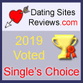 2019 Dating Sites Reviews Single's Choice Award - Gold