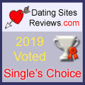 2019 Dating Sites Reviews Single's Choice Award - Silver