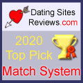 2020 Dating Sites Reviews Choice Awards - Match System
