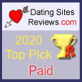 2020 Dating Sites Reviews Choice Awards - Paid