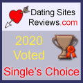 2020 Dating Sites Reviews Single's Choice Award - Bronze